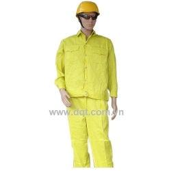 Quần áo bảo hộ lao động - kaki vàng chanh
