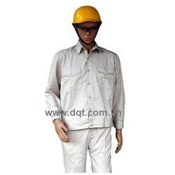 Quần áo bảo hộ lao động -  kaki trắng