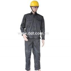 Quần áo bảo hộ lao động - Màu Kaki Ghi Đậm