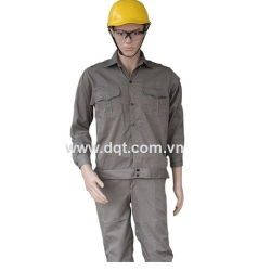 Quần áo bảo hộ lao động - màu kakao