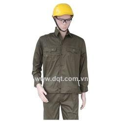 Quần áo bảo hộ lao động - Màu kaki đất