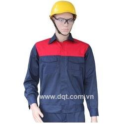 Quần áo bảo hộ lao động - Túi hộp  - vá vai