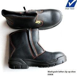Giày Bảo hộ lao động cao cổ, khóa cạnh SINGAPORE D&D-03838