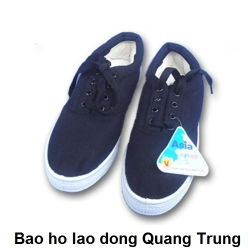 Giày vải Asia - Đế cao - Buộc dây