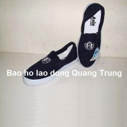 Giày vải Asia - Đế cao - Ko buộc dây