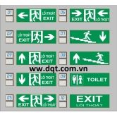 Đèn Exit Thoát Hiểm - 1 mặt - 2 mặt