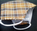 Khẩu trang vải chống bụi 3 lớp