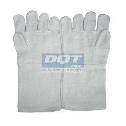 Găng tay chống nóng - Vải Amiang