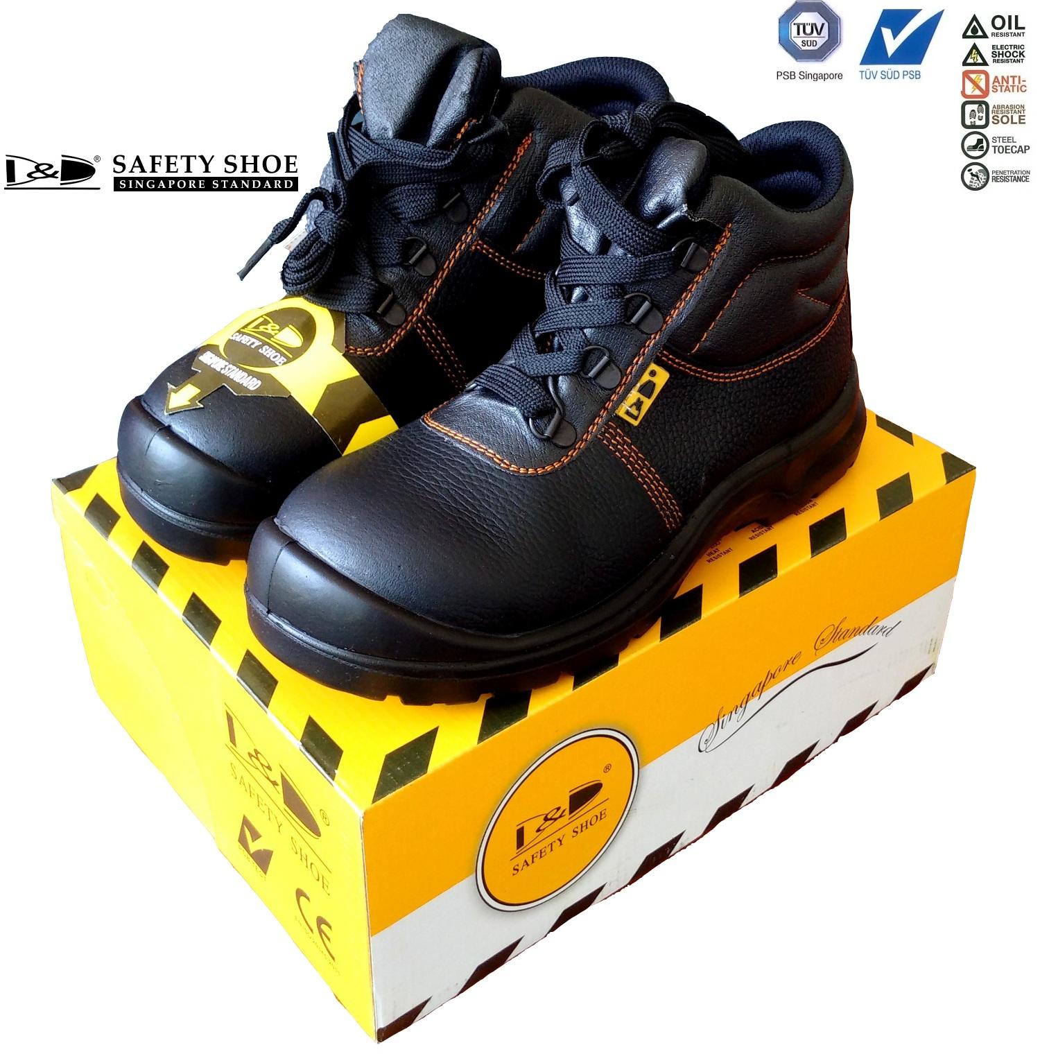 giày bảo hộ lao động D&D - 03818