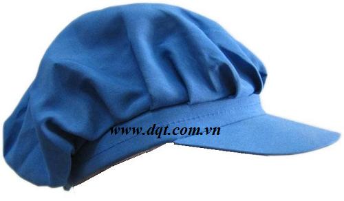 Mũ vải bảo hộ lao động kaki dành cho ngành thực phẩm